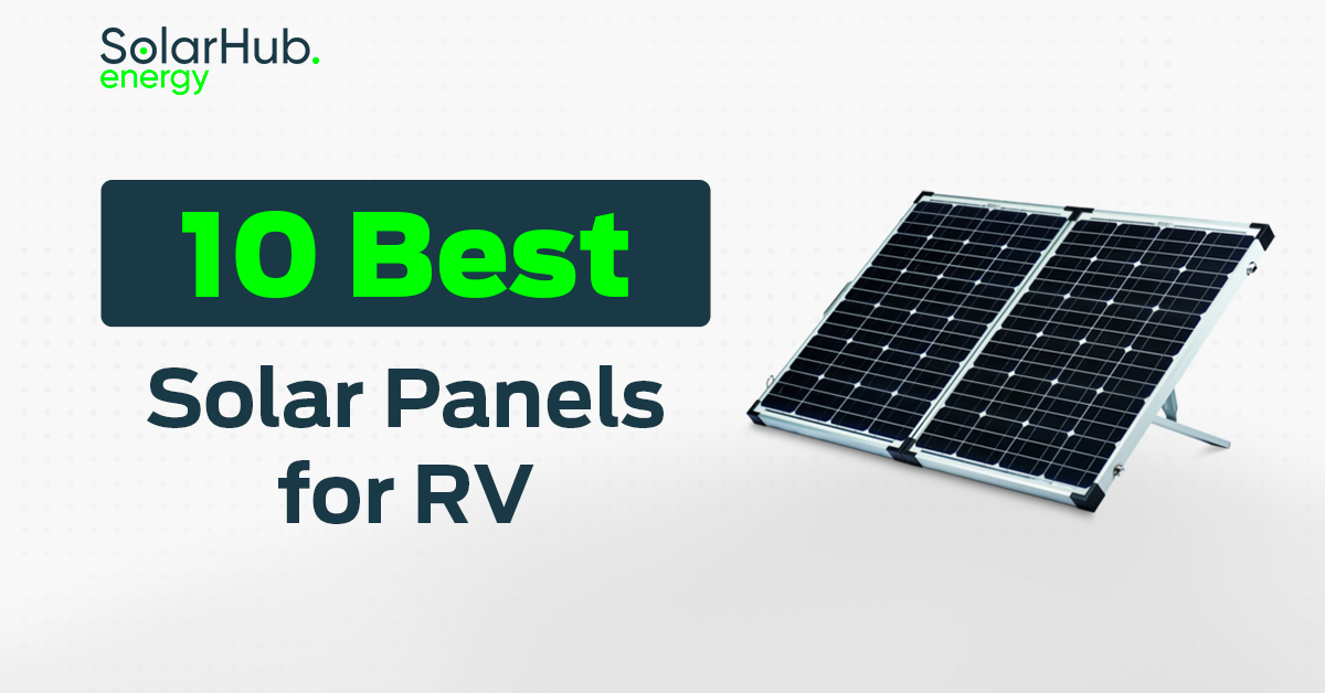 Solar Panels for RV