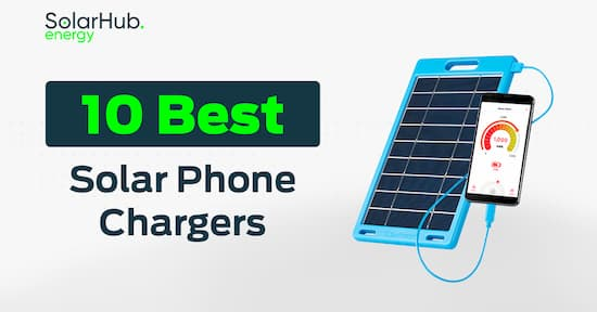10 Best Solar Phone Chargers