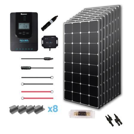 Renogy 800 Watt 12 Volt Off Grid Solar Premium Kit