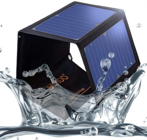 SOKOO 22W 5V 2-Port USB Portable Foldable Solar Charger