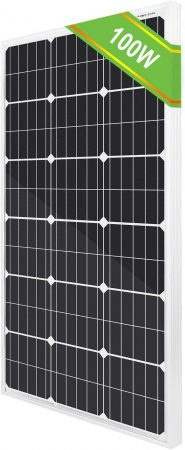 ECO-WORTHY 100 Watt 12 Volts Polycrystalline PV Solar Panel