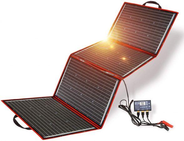 Dokio 220W Foldable Monocrystalline Solar Panel