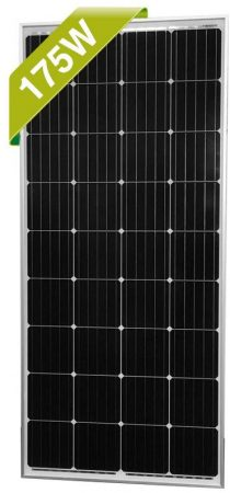 Newpowa 175 Watt 12V Moncrystalline Solar Panel High Efficiency Mono Module