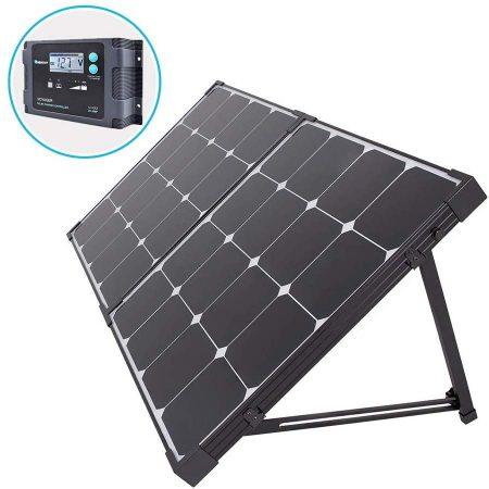 Renogy 100 Watt Eclipse Monocrystalline Solar Suitcase