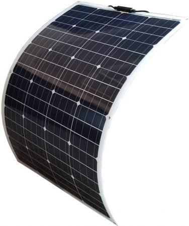 WindyNation 100W 100 Watt 12V Bendable Flexible Thin Lightweight Monocrystalline Solar Panel