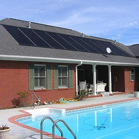 XtremepowerUS Inground/Above Ground Swimming Pool Solar Panel Heating System