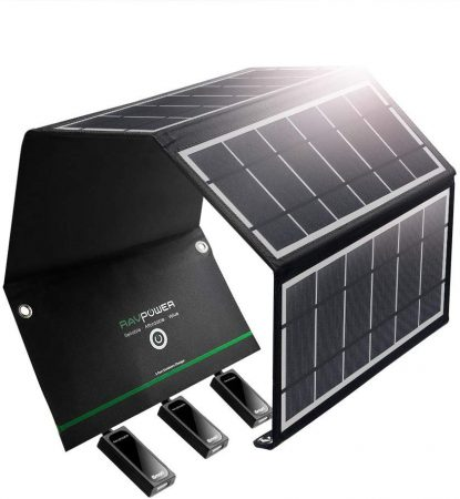 RAVPower Solar Charger 24W Solar Panel