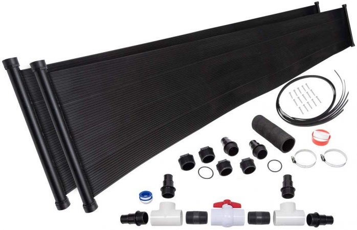 2-2'X20' SunQuest Solar Pool Heater with Diverter And Roof/Rack Mounting Kit