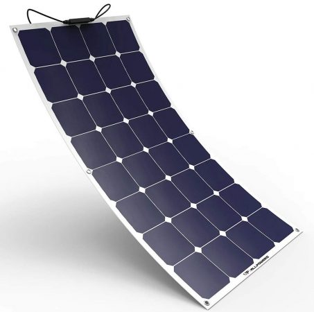 ALLPOWERS Solar Panel 100W 18V 12V Bendable Flexible Solar