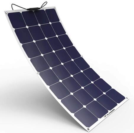 ALLPOWERS Solar Panel 100W 18V 12V Bendable Flexible Solar