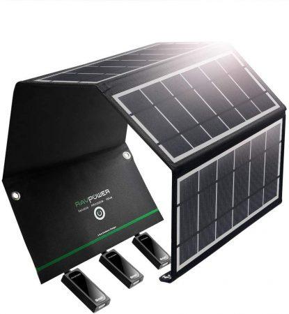 RAVPower Solar Charger 24W Solar Panel