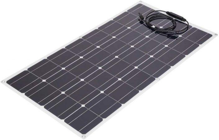 Nexttechnology 100 Watt Ultra Thin Outdoor Solar Panel