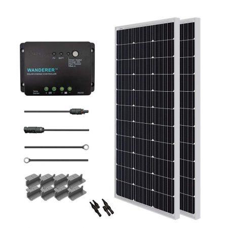 Renogy 200 Watt 12 Volt Monocrystalline Solar Starter Kit
