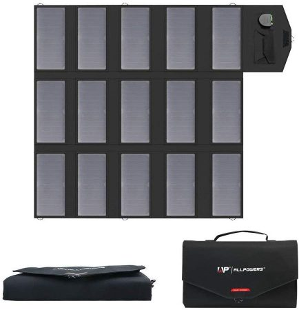 ALLPOWERS 100 W Portable Solar Panel Set
