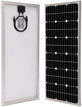 Richsolar 100 Watt 12 Volt Monocrystalline Solar Panel
