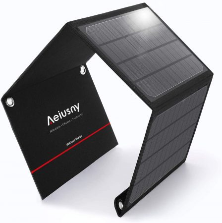 Aeiusny 20W Solar Charger Foldable Solar Panel