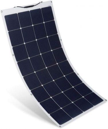 SUAOKI 150W 18V 12V Solar Panel Charger Monocrystalline Flexible Cell